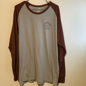 THE NORTH FACE LONG SLEEVE GRAPHIC TEE XXL